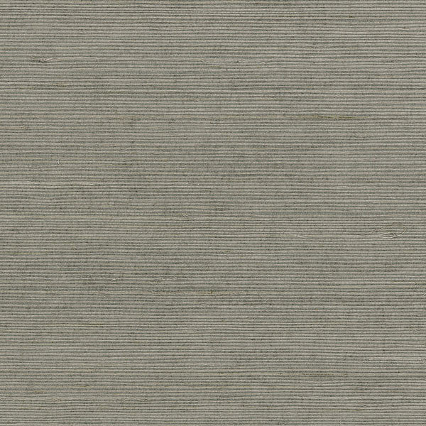Designer Grasscloth - Extra Fine Sisal Gray, Brown - 488-410