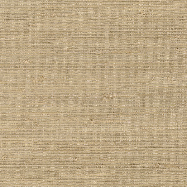 Designer Grasscloth - Extra Fine Raw Jute with Pearl - 488-418