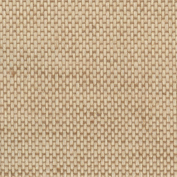 Designer Grasscloth - Basket Weave with Pearl, Tan - 488-422