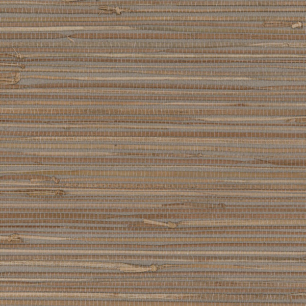 Designer Grasscloth - Boodle Gray, Natural - 488-439