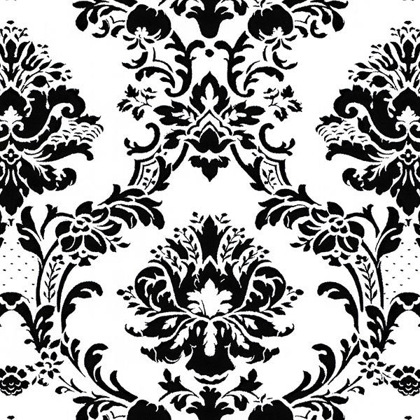 Black and White Damask - BK32013