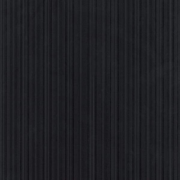 Vertical Stripe Emboss Wallpaper in Black & Charcoal - CS27308