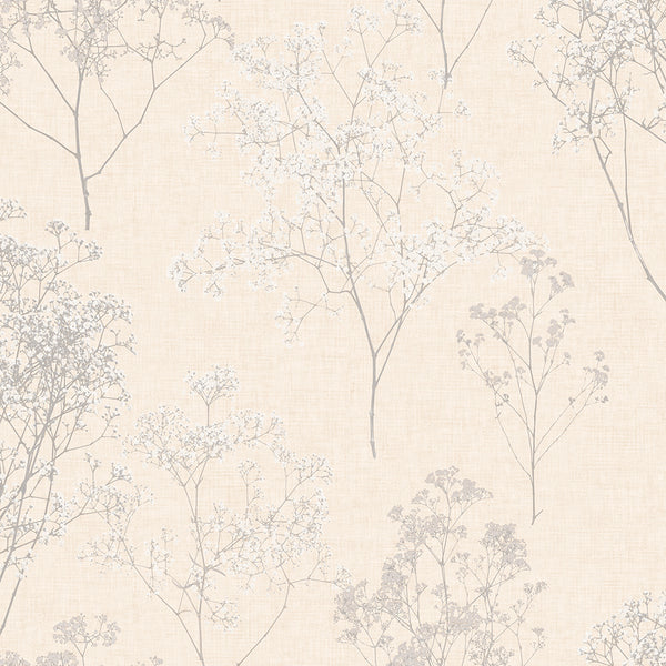 Queen Anne's Lace Grey, Beige - FH37509