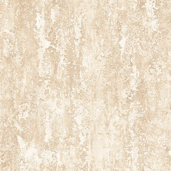Plaster Effect Beige, Cream, Metallic Gold - IM36431