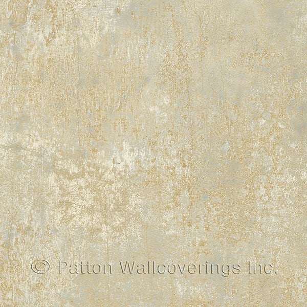 Blue, Metallic Gold Frost Texture - LL36200