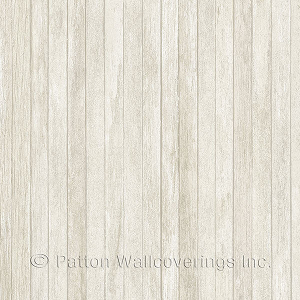 Beige Scrapwood Design - LL36237