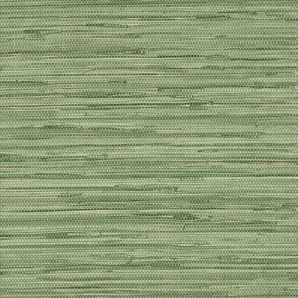 Faux Grasscloth Green - MH36504