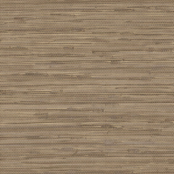 Faux Grasscloth Brown - NT33709