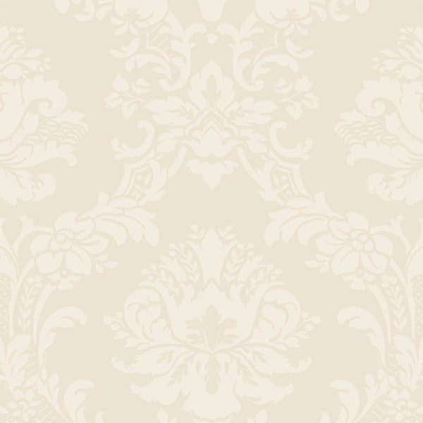 Document Damask Ivory, Pearl - SL27543