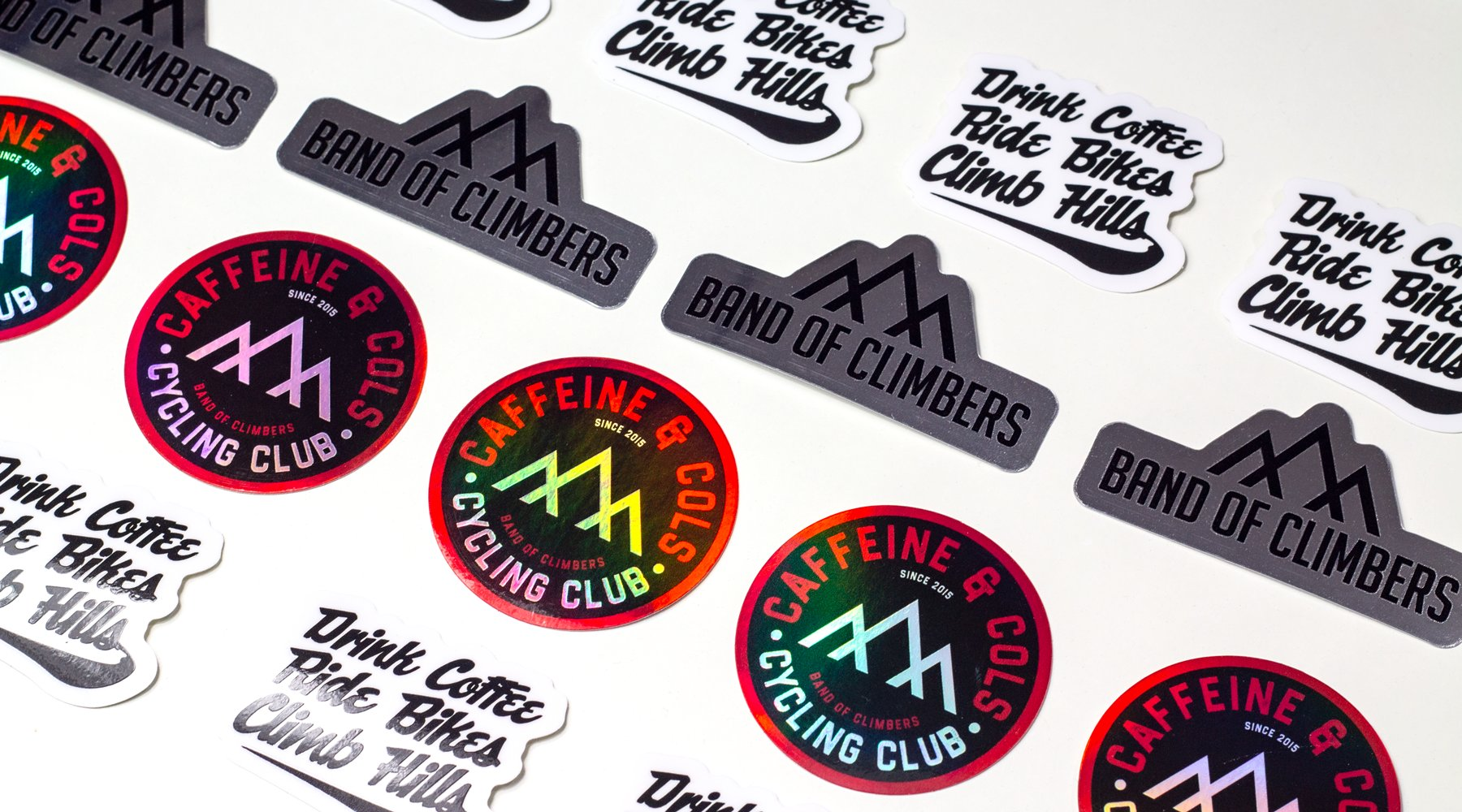 Band of Climbers Stickers