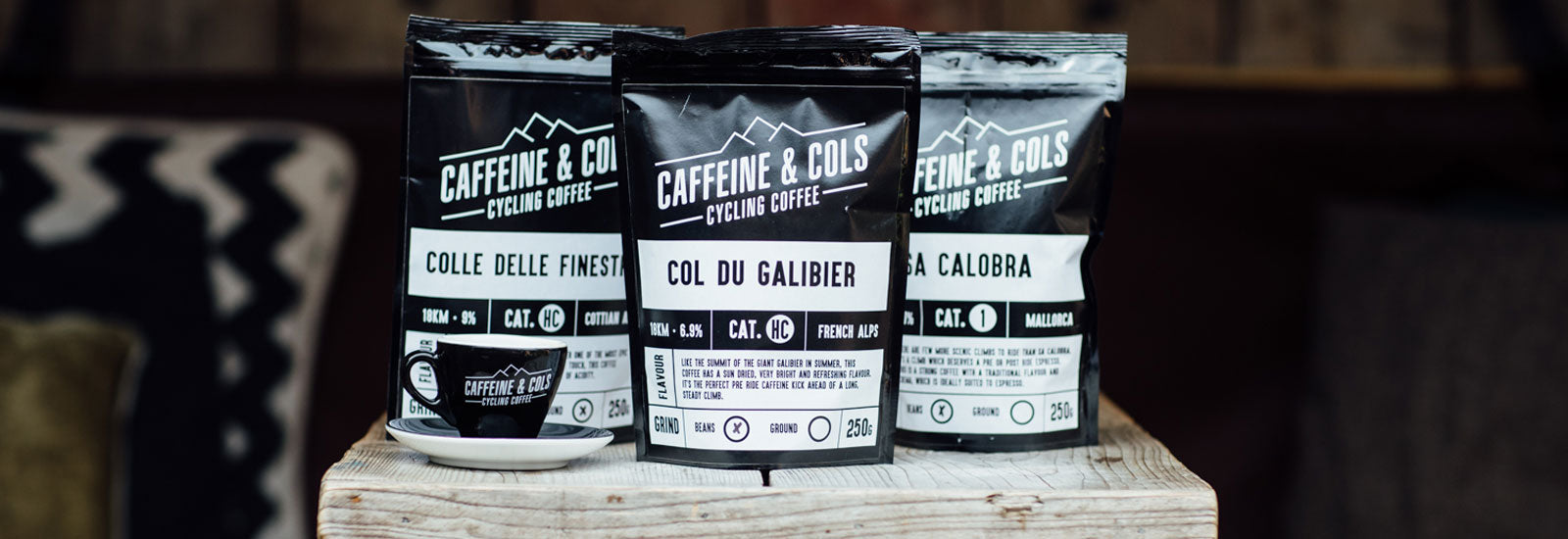 Caffeine & Cols Cycling Coffee