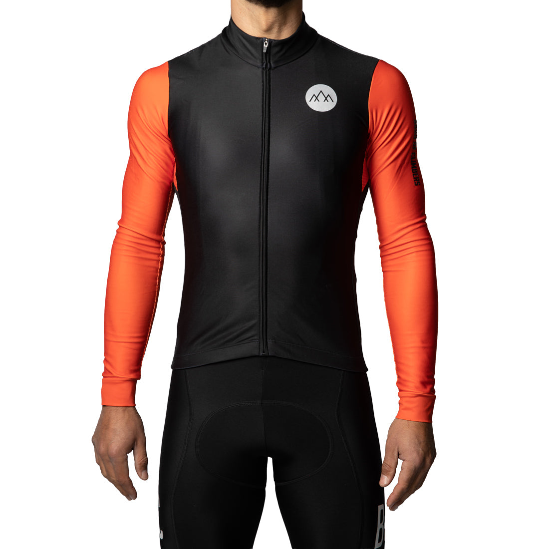 Pro Seasons Jersey - Black/Orange