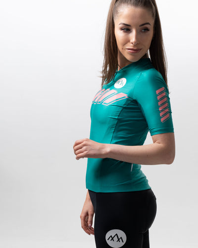 Women's Pro Ascent Jersey - Teal