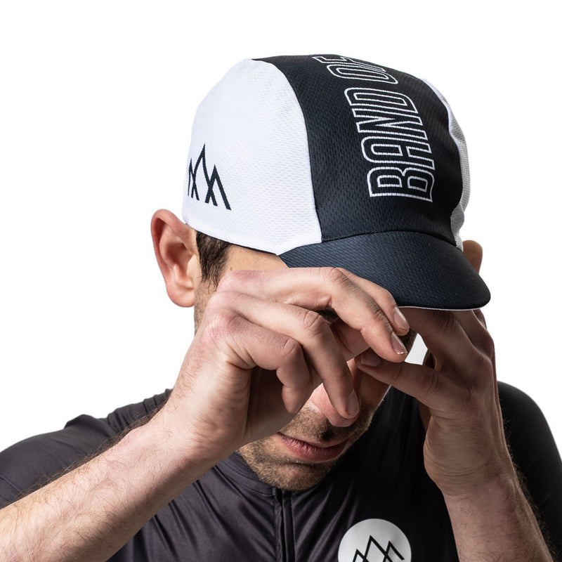 Summit Cycling Cap - Black