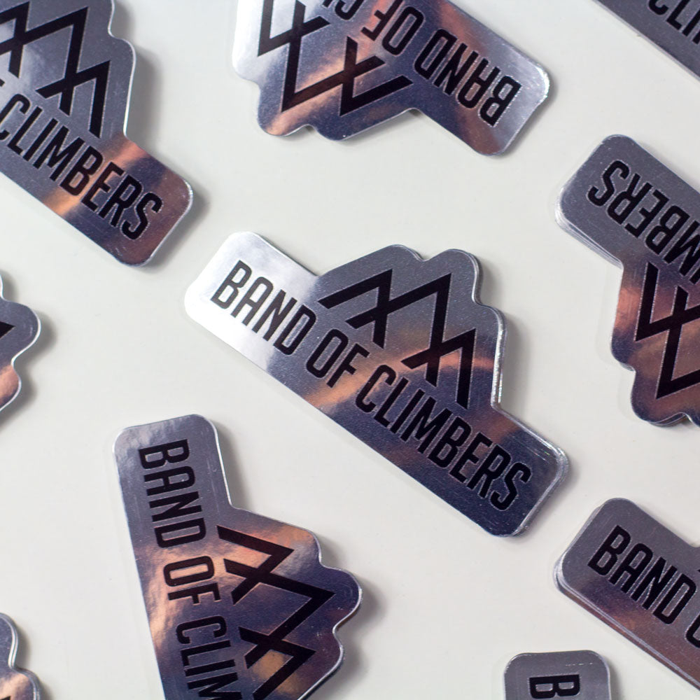 Logo Metallic Sticker Pack