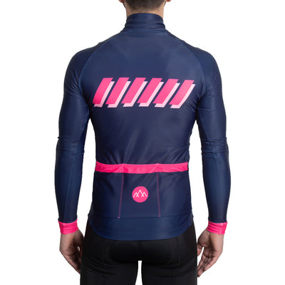 ThermoAscent Long Sleeve Jersey - Navy