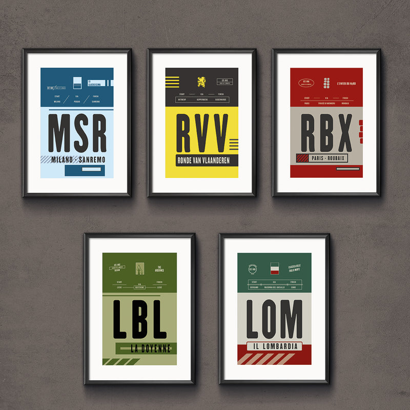 The Monuments Series : Race Pass Prints