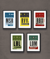 Tour of Flanders Race Pass Print