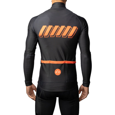 ThermoAscent Long Sleeve Jersey - Black