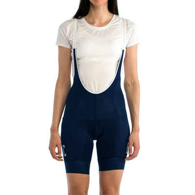Women's BoC Mountains Bib Shorts - Navy