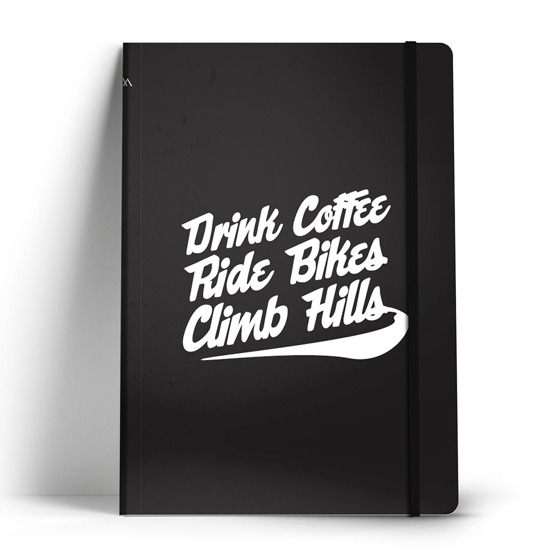 Drink Coffee Ride Bikes Notebook