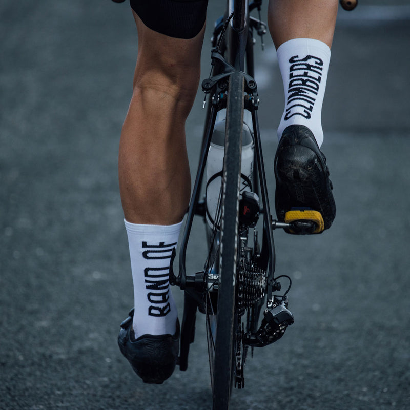 Pro Elevation Socks - White