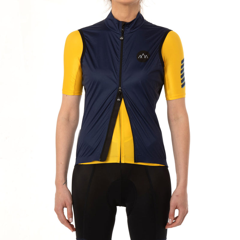 Women's Izoard Wind Gilet - Navy