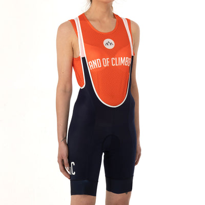 Women's Mountains Mesh Sleeveless Baselayer - Orange