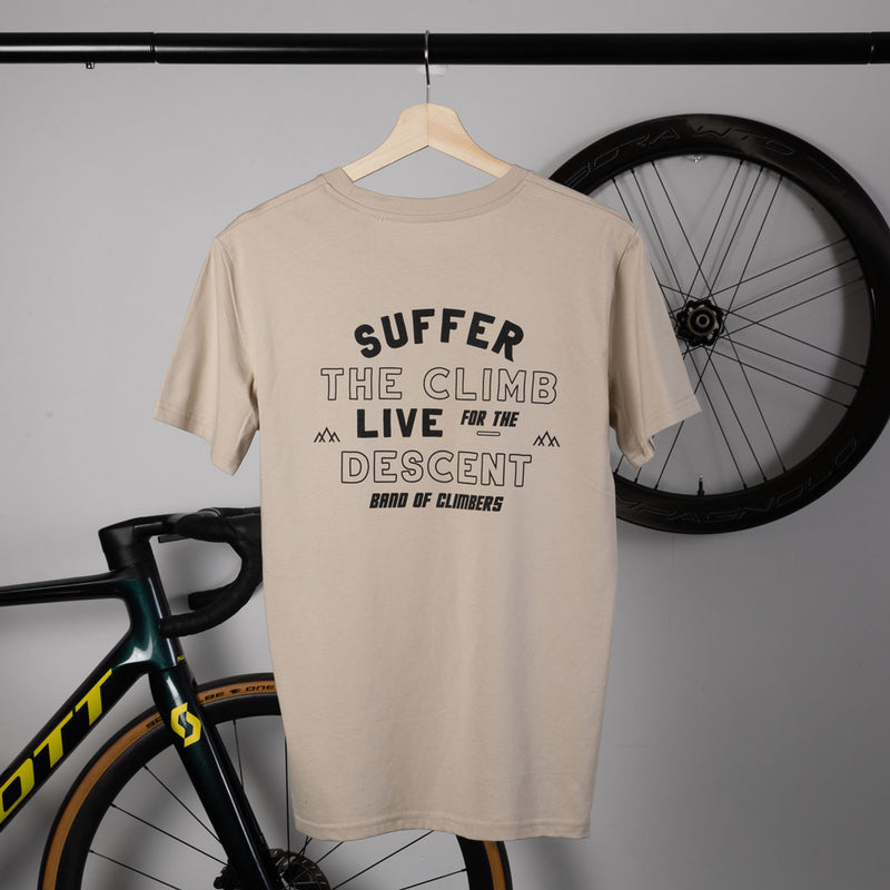 Live for the Descent T-shirt - Desert