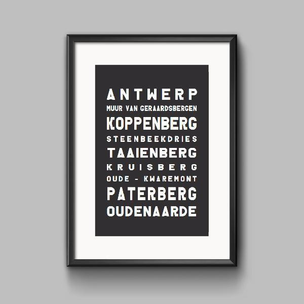 Tour of Flanders Print (2017 - Edition)