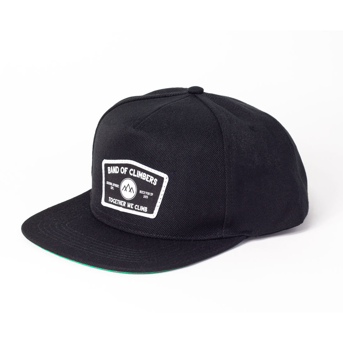 ICON 5 Panel Cap - Black