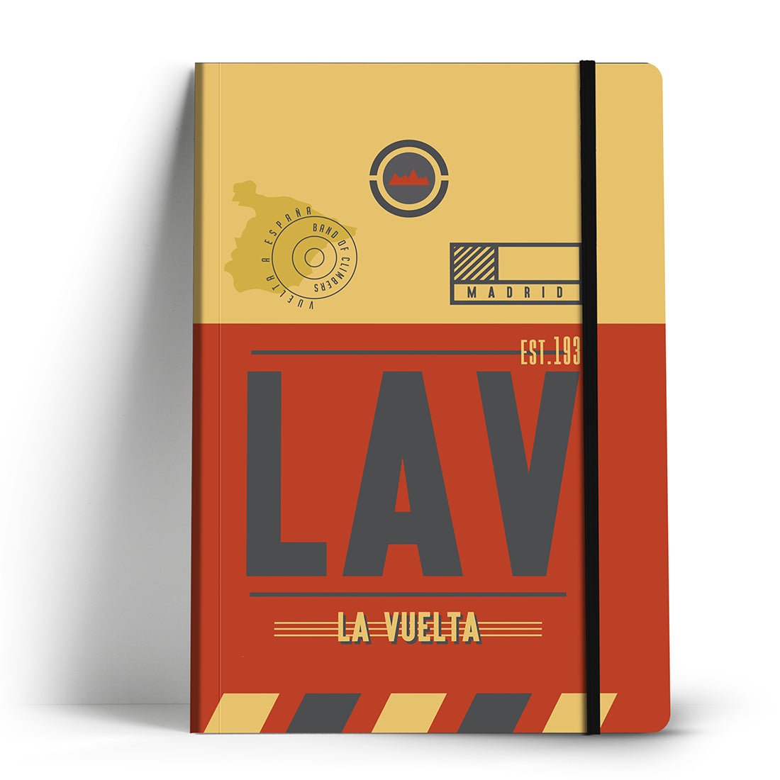 La Vuelta a Espana Race Pass Notebook