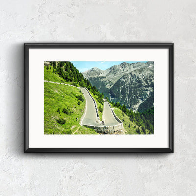 Solitude on the Stelvio