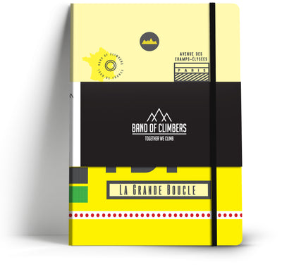 Tour de France Race Pass Notebook