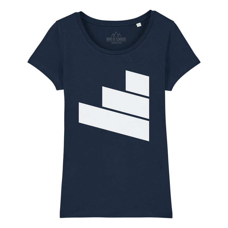 Women's British Continental Logo T-shirt - Navy