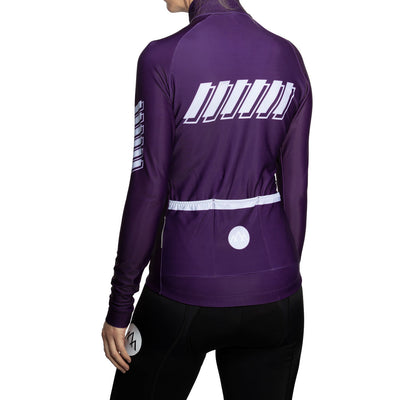 Women's ThermoAscent Long Sleeve Jersey - Violet