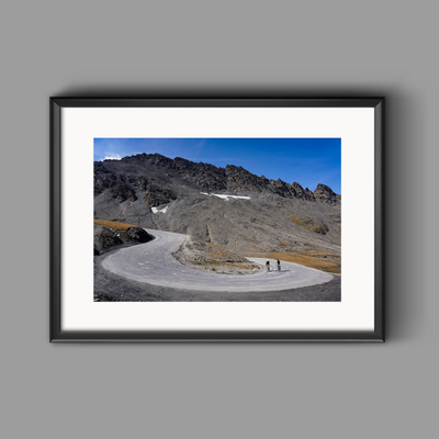 The Col de L'Iseran - The Final Switchbacks
