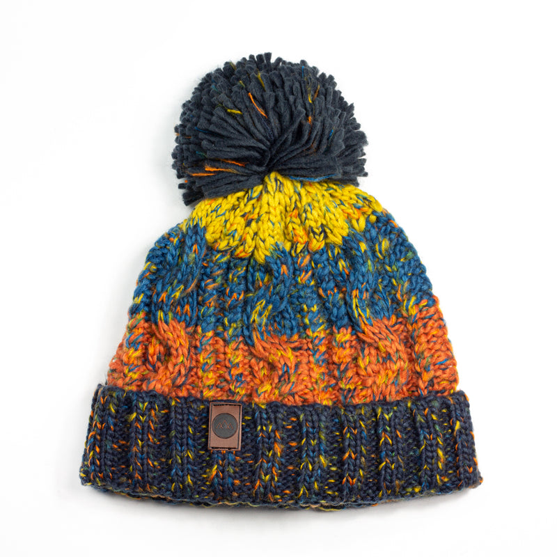 Into the Wild Bobble Hat - Retro Orange