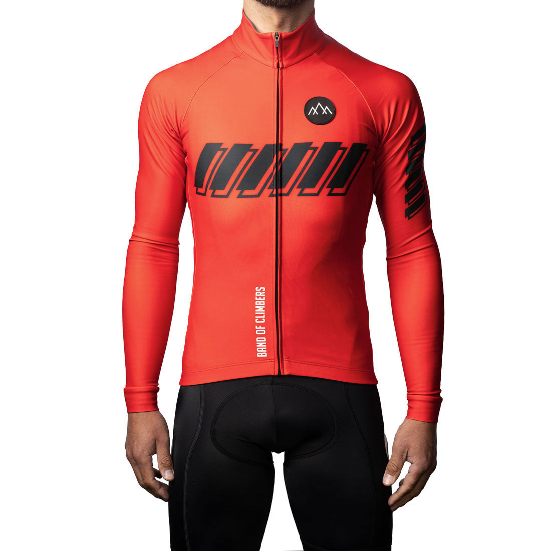 ThermoAscent Long Sleeve Jersey - Red