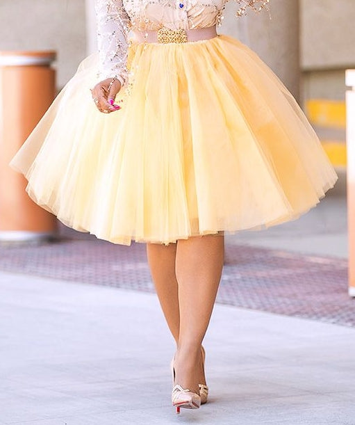 Tonia- Five Layer Tutu Full Skirt