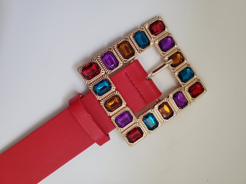 Color My World BUCKLE BELT (Five colors)
