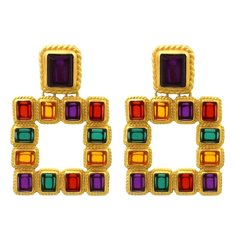Color My World- Statement EARRINGS (NOT RETURNABLE)