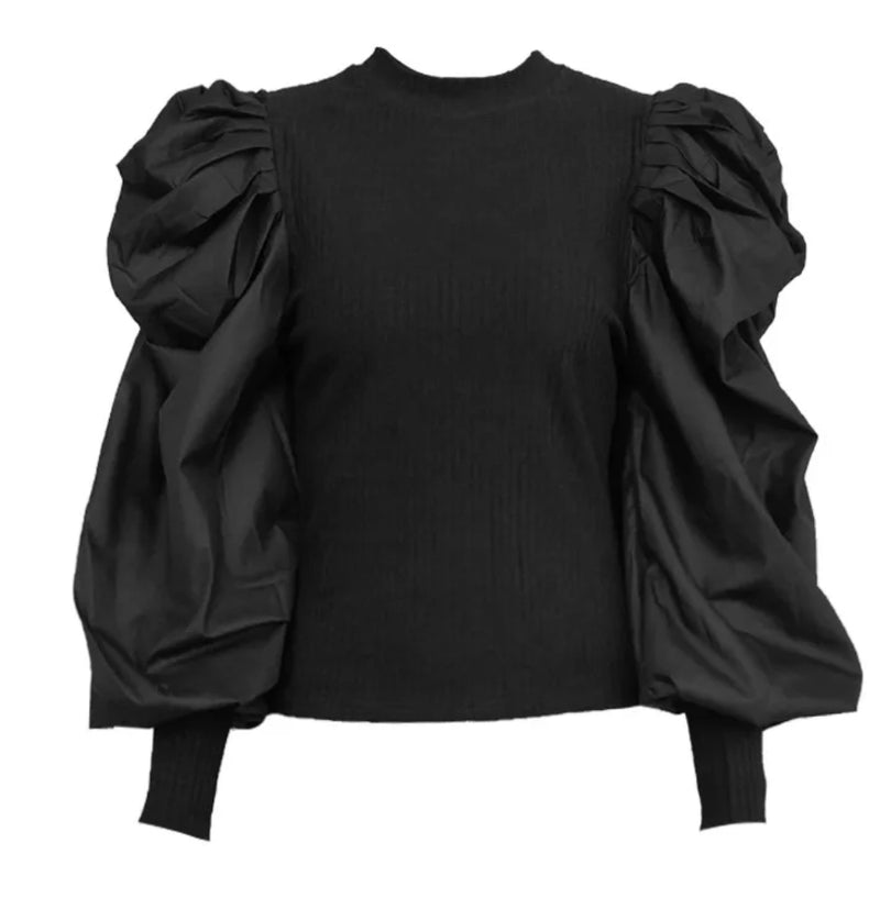 Bonita- Puff Sleeve blouse (New)
