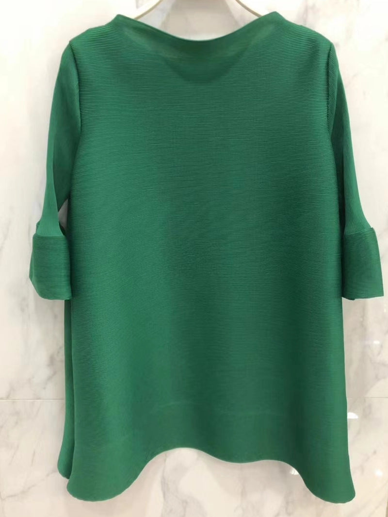 Kelly- Pleat Swing Tunic (NEW)