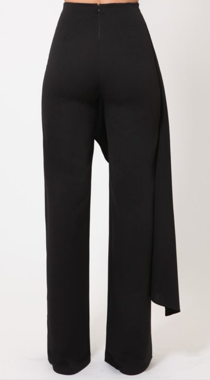 Isabella- Highwaist Overlay Pants (New)