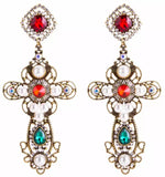 Tiana Earrings- X-Large Statement Earrings (NOT RETURNABLE)