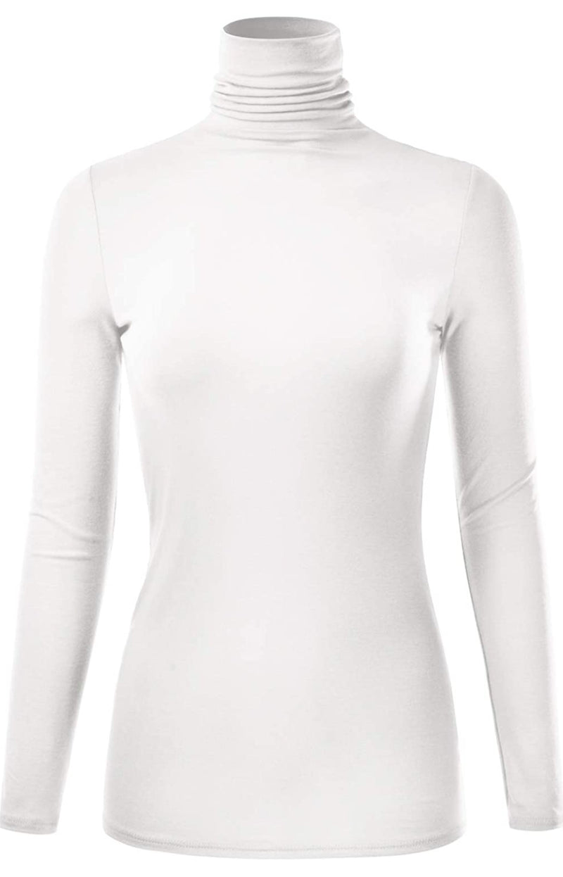 Cozy Up Pretty- Turtleneck Blouse (PREORDER! Ships in 3-5 days)