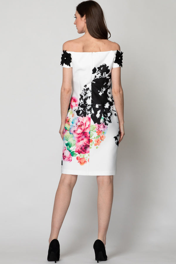 Joseph Ribkoff Printed Dress