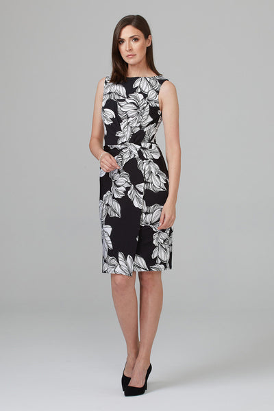 Joseph Ribkoff Printed Dress - Moonbow Tropics