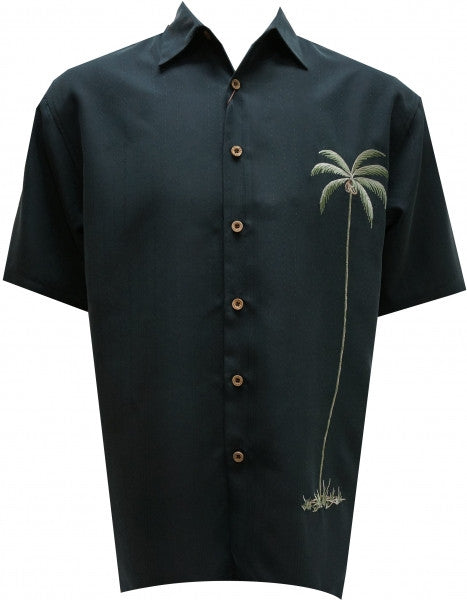 BAMBOO CAY SINGLE PALM BLACK